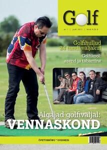 Ajakiri Golf 2013 #1