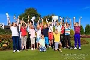 Niitvälja Golf - Wilsoni lasteturniir lõpetas hooaja