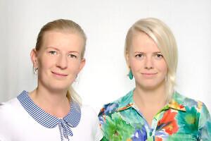 NLY Golfwear loojad Liis Kangur ja Nelli Nilson Foto: Erakogu