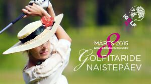 Golfitaride naistepäev toimub sel pühapäeval BMW Sisegolfikeskuses