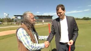 Golfirajal võtavad üksteisega mõõtu Aivar Pohlak ja Madis Kallas