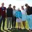 HIIGELGALERII! JUUNIORID VS SEENIORID! Noored ja veidi vanemad võtsid golfimurul mõõtu