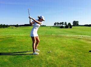 Kadi Saadlo - golf