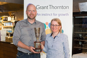 EGCC Anniversary Tournament by Grant Thornton 2016 võitjad  Andres Christensen ja Anneli Esken