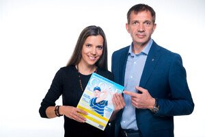 Monika Kuzmina ja Urmas Sõõrumaa