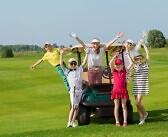 Lastega golfi mängima – muidugi! Aga pea silmas neid nõuandeid