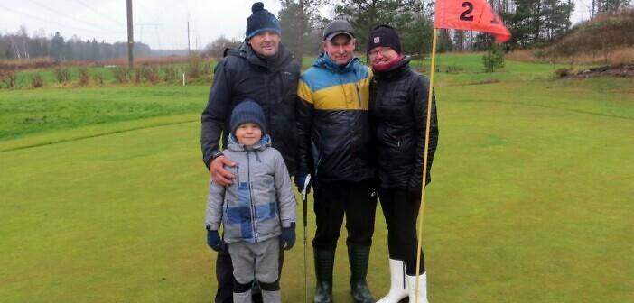 Golfivõistlus Isa Lapsega