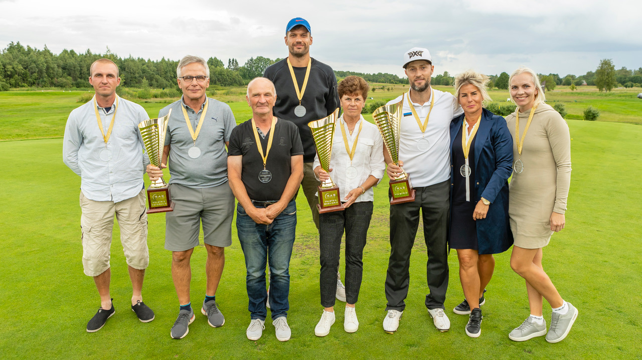 Rae Golfiklubi meistrivõistlustel osales rekordarv mängijaid